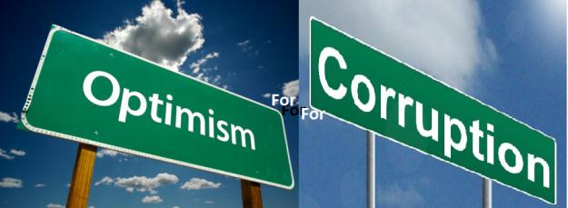 optimism for corruption